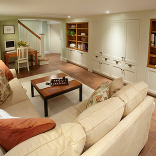 Cozy Home Theater, Basement Family Room