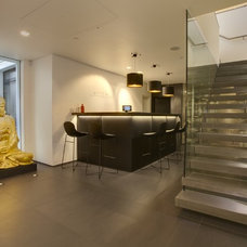 Modern Basement by Olive Audio Visual