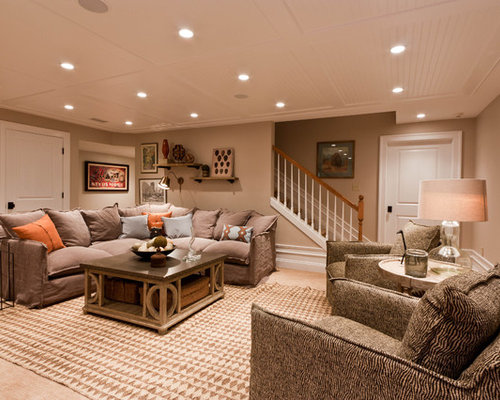 Basement Stair Lighting Pendant: Ceiling Stairs Home Design Ideas, Pictures, Remodel And Decor