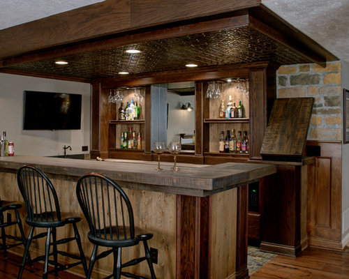 Rustic Bar Top Home Design Ideas Pictures Remodel And Decor