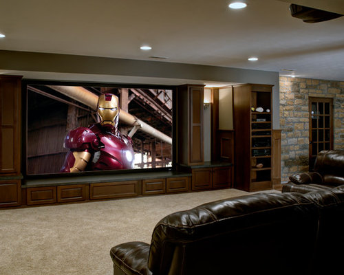 Surround Sound System Home Design Ideas, Pictures, Remodel