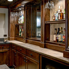 Rustic Basement by Dave Fox Design Build Remodelers