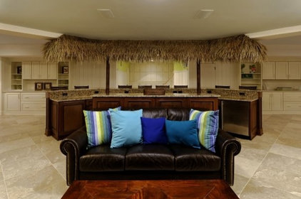 Tropical Basement by Mike Garcia Construction