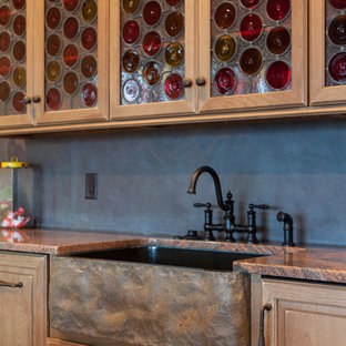 Inspiration for a timeless basement remodel in Other