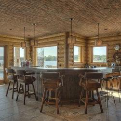 traditional cabin basement design ideas pictures remodel decor