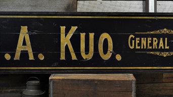 Custom General Store Sign
