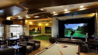 Custom Golf Simulator