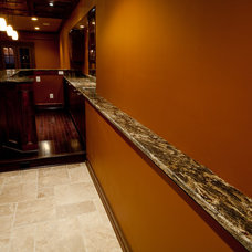 Traditional Basement by Granite Grannies