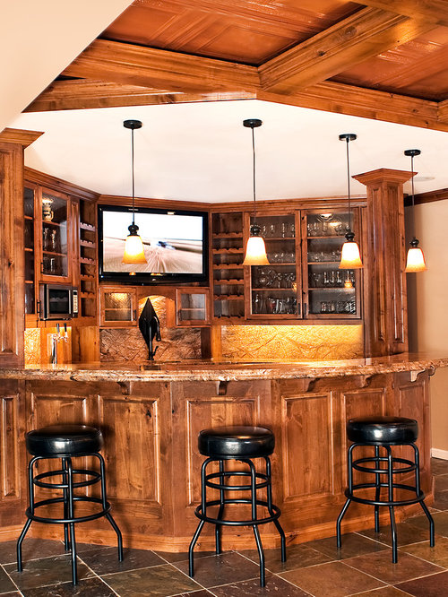 Custom Bar Cabinetry Home Design Ideas Pictures Remodel