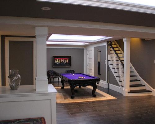 modern boston basement design ideas pictures remodel decor