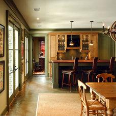 Traditional Basement by Herlong & Associates Architects + Interiors