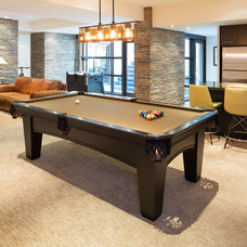 Modern Basement by David Small Designs