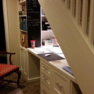Aménagement d'un petit sous-sol classique.