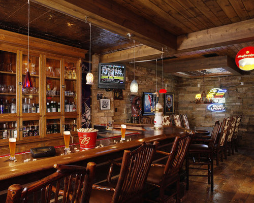 Best Rustic Basement Bar Design Ideas Amp Remodel Pictures