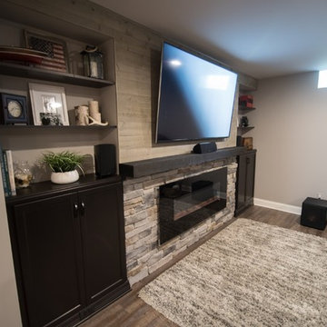 Detailed Accent Wall