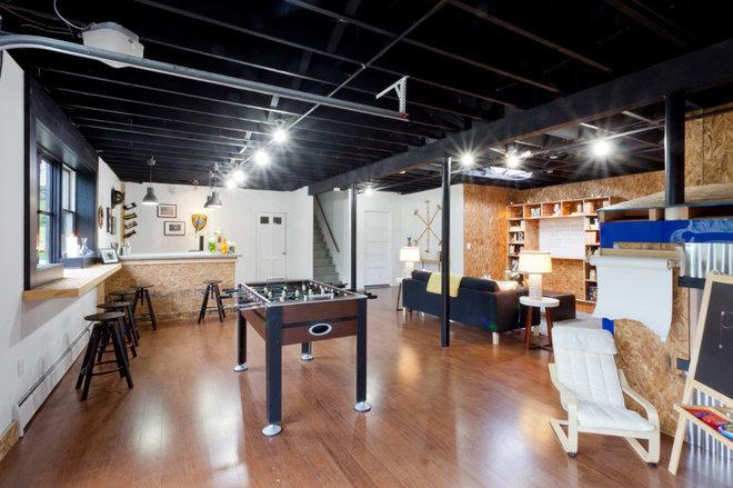 industrial basement ideas for pinterest