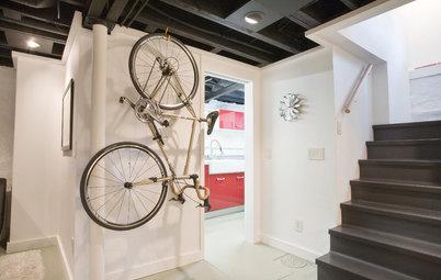 Snygga sätt att förvara cykeln inne i hemmet
