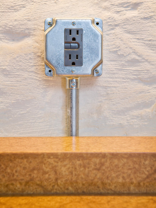 Exposed Electrical Wire Ideas, Pictures, Remodel and Decor