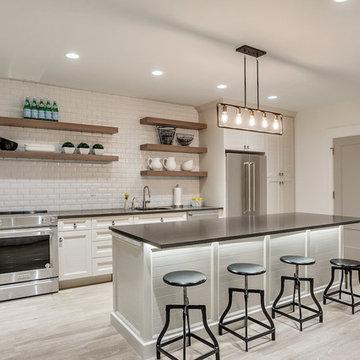 E Builders - The Snow Crest Estate - Basement Kitchen