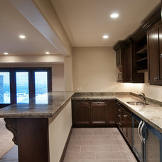 Traditional Basement by Cameo Homes Inc.