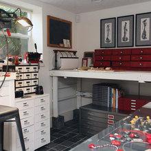 My Houzz: Basement Artist Studio to Inspire