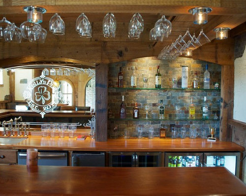 Back bar mirror home design ideas pictures remodel and decor