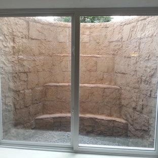 Réalisation d'un sous-sol minimaliste.
