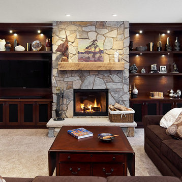 basement design ideas pictures remodel decor with a wood stove