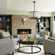 Room of the Day: A Classy Space for Movies, Relaxing and Beer