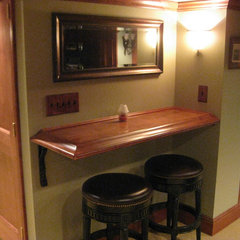 traditional basement English Pub Basement