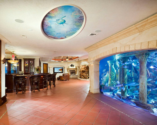 Aquarium In Wall Home Design Ideas Pictures Remodel And Decor