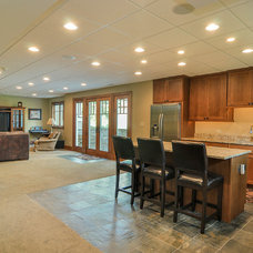 Craftsman Basement by Sebring Services