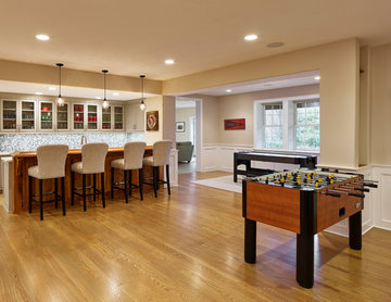 Expansive Basement Renovation