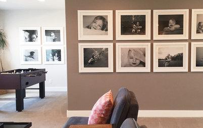 アートギャラリーのように写真を飾る、素敵な「ファミリーウォール」のための9つのポイント