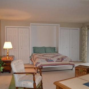Family room/Bedroom combination w/ a Murphy Bed