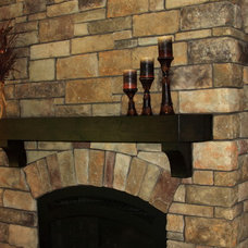 Traditional Basement by Berghuis Construction LLC