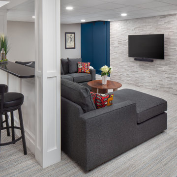 Family Space for TV, Movies and a Libation or Two!