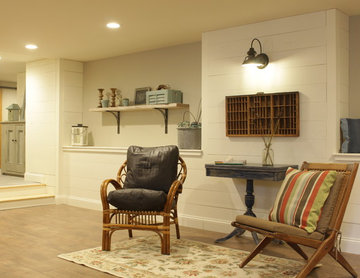 Farmhouse basement