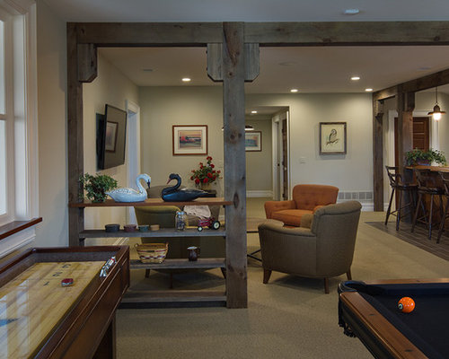 600 farmhouse basement design ideas remodel pictures houzz