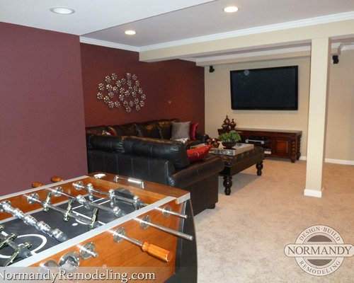 Basement Living Room Ideas, Pictures, Remodel And Decor