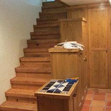 Traditional Basement by Byrne Custom Woodworking Inc
