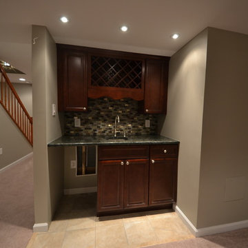 Finished basement, Forest Hill, MD