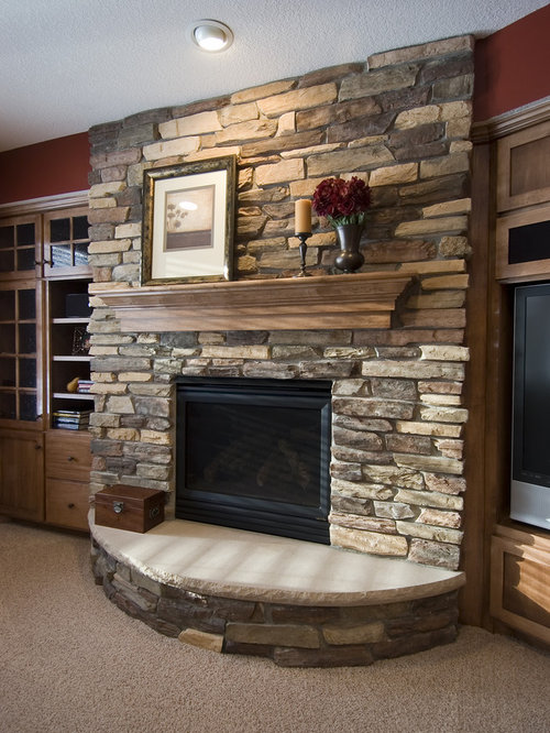 Curved Hearth Houzz