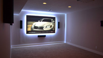 Fishers, IN - Basement Media Room