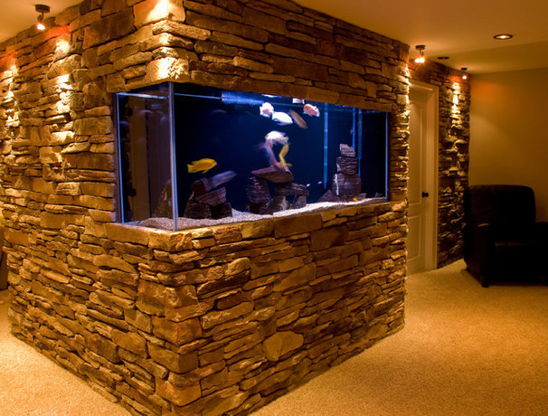 Traditional Basement by Buy Direct Reno's