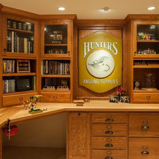 Traditional Basement by Today's Real Kitchen Design Company