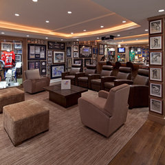 traditional media room by Peter A. Sellar - Architectural Photographer
