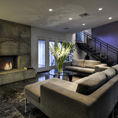 contemporary basement by RD Architecture, LLC