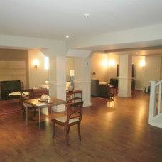 Modern Basement by SCH Home Improvements