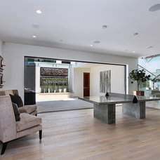 Contemporary Basement by Spinnaker Development